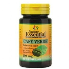 Café Verde de Nature Essential, 60 cápsulas. Extracto seco de café verde.