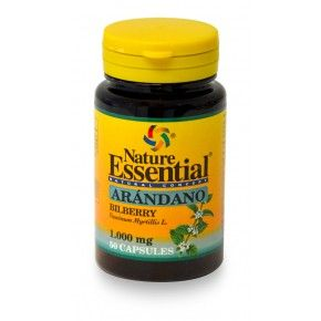 Arándano Nature Essential, 50 cápsulas. Arándano azul.