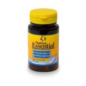 Aceite de Hígado de Bacalao Nature Essential, 50 perlas
