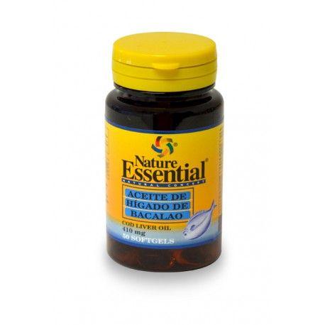 Aceite de Hígado de Bacalao Natura Essential, 50 perlas