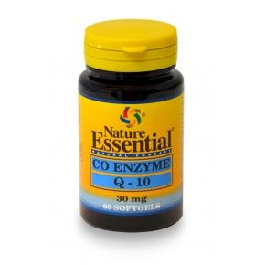 Coenzima Q10 30 mg. Nature Essential, 60 perlas