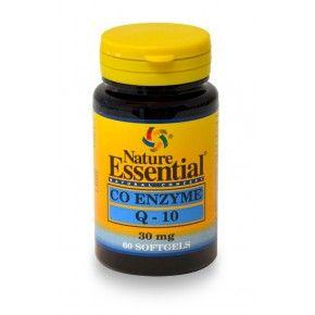 Coenzima Q10 30 mg. Nature Essential, 60 perlas