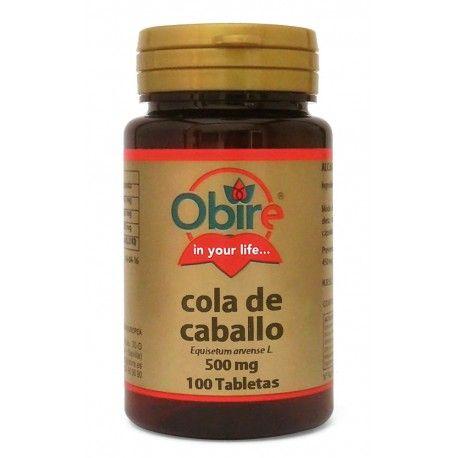Cola de Caballo Obire, 100 tabletas