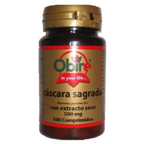 Cáscara Sagrada Obire, 100 comprimidos