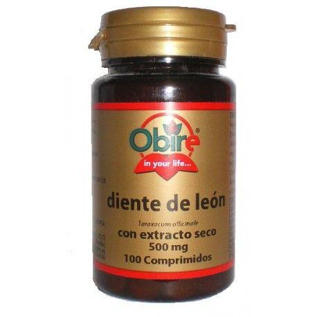 Diente de León Obire, 100 comprimidos