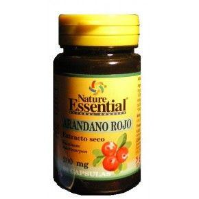 Arándano Rojo Nature Essential, 60 cápsulas. Extracto de arándano rojo con vitamina C.