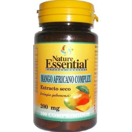 Mango Africano Complex de Natura Essential, 100 comprimidos