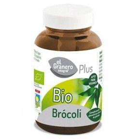 Brócoli Bio, El Granero Integral, 90 cápsulas. Con glucosinolatos y sulforafano.