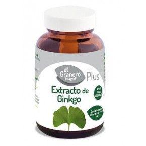 Extracto de Ginkgo, El Granero Integral, 60 comprimidos | Ginkgo biloba comprimidos.