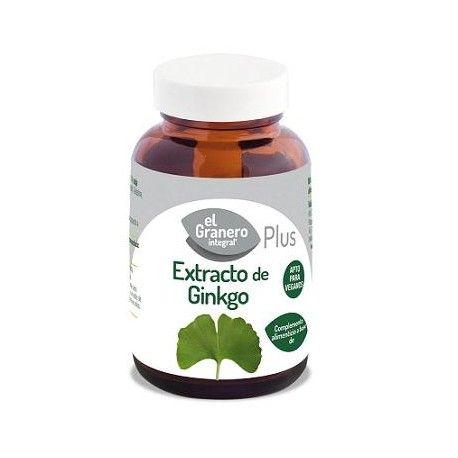 Extracto de Ginkgo, El Granero Integral, 60 comprimidos