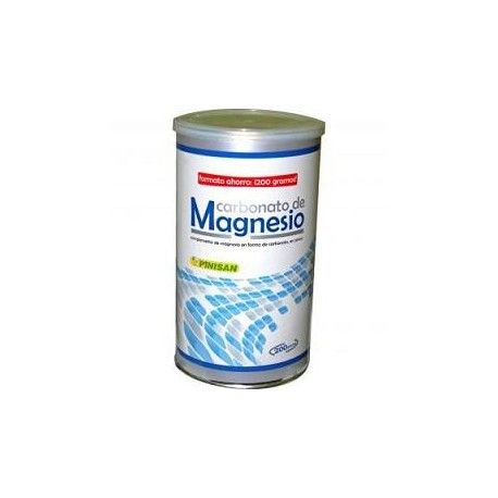 Carbonato de Magnesio Pinisan, 200 gr.