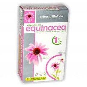Equinacea Pinisan, 30 cápsulas. Echinacea purpurea.