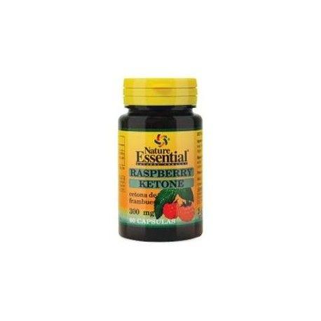 Raspberry Ketone (cetona de frambuesas) de Nature Essential, 60 cápsulas
