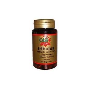 Tríbulus terrestris 500 mg de Obire (90% saponinas). Tribulus cápsuas.