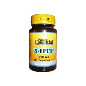 Triptófano (5-HTP 100mg), magnesio y vit B6 de Nature Essential