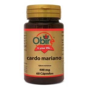 Cardo Mariano 400 mg Obire. Cardo mariano cápsulas.