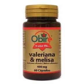 Valeriana y Melisa 400 mg de Obire