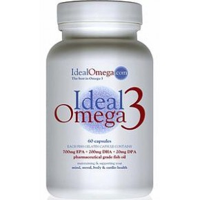Ideal Omega 3, 60 cápsulas