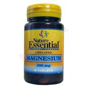 Magnesium (Magnesio quelado) 300 mg Nature Essential