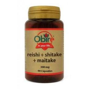 Reishi+Shitake+Maitake 300 mg, Obire