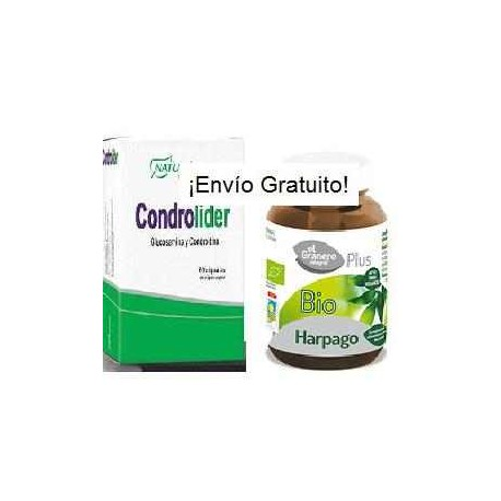 Pack 3-Articulaciones (Harpagofito+Glucosamina y Condroitina)