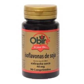 Isoflavonas de soja 40 mg Obire