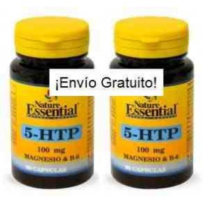 Triptófano (5-HTP 100 mg) Nature Essential x2