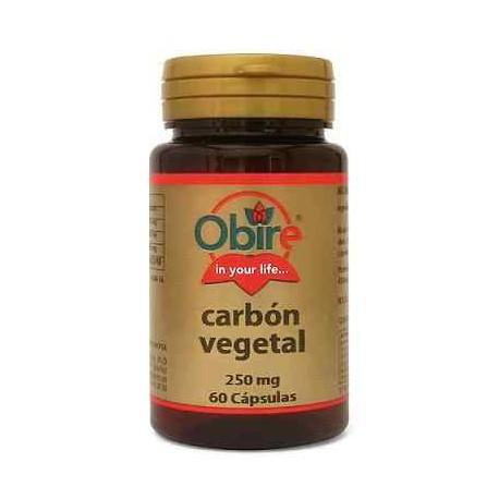 Carbón Vegetal 250 mg Obire