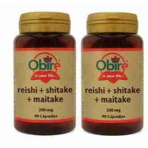 Reishi Shitake Maitake Obire x2