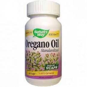 Aceite de Orégano Stand 60 cápsulas de Natures Way
