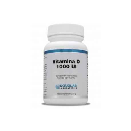 Vitamina D 1000 UI Douglas 100 comprimidos