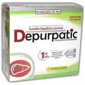 Depurpatic Pinisan 30 cápsulas (rábano negro, cardo mariano, desmodium)