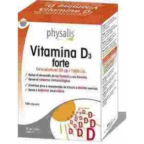 Vitamina D3 Forte 1000 UI Physalis
