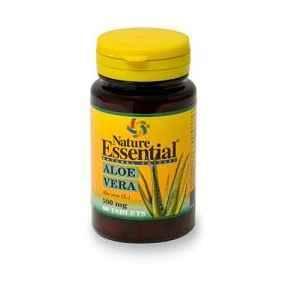 Aloe Vera 500 mg, Nature Essential. Aloe vera comprimidos.