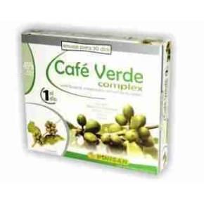Café Verde Complex Pinisan con cetonas de frambuesa