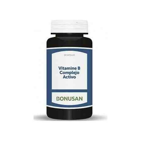 Vitamina B Complejo Activo Bonusan 60 cápsulas