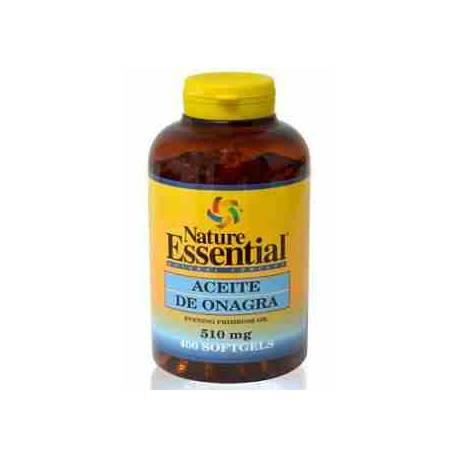 Aceite de Onagra 500 mg 400 perlas Nature Essential