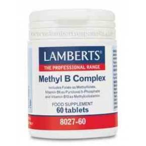 Methyl B Complex Lamberts 60 comprimidos