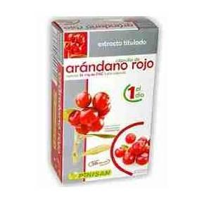 Arándano Rojo Pinisan 30 cápsulas - Cranberry