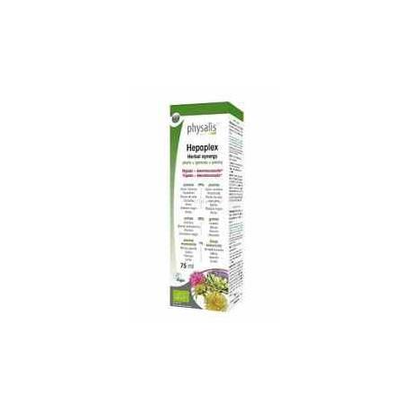 Hepaplex Bio Physalis - Alcachofa, Cardo Mariano, Diente de Leon, Curcuma - 75 ml