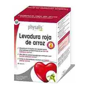 Levadura Roja de Arroz Forte Physalis (Coenzima Q10, EPA y DHA)