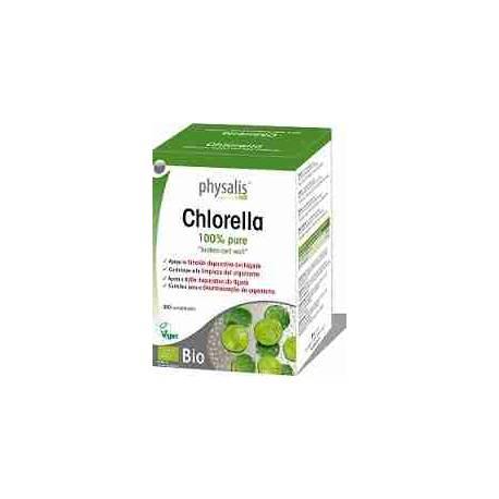 Chlorella Bio Physalis 200 comprimidos
