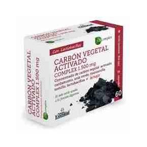 Carbón Vegetal Activado Complex Nature Essential 60 cápsulas