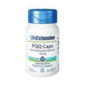 PQQ Caps Life Extension 20 mg - Pirroloquinolina