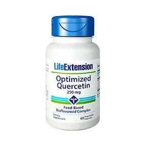 Optimized Quercetin 250 mg Life Extension 60 cápsulas - Quercetina