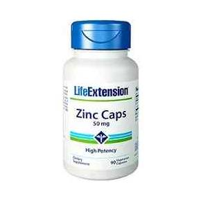 Zinc Caps 50 mg Life Extension 90 cápsulas - Optizinc