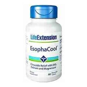 EsophaCool 60 tabletas Life Extension - Regaliz DGL