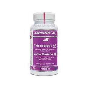 Cardo Mariano Airbiotic - Acido Alfa Lipoico 60 cápsulas