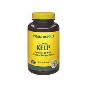 Kelp Natures Plus 300 comprimidos