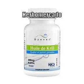 Aceite de Krill NKO Dynveo 500 mg 60 cápsulas Licaps